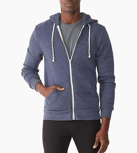 Alternative apparel rocky eco fleece zip hoodie   eco true navy