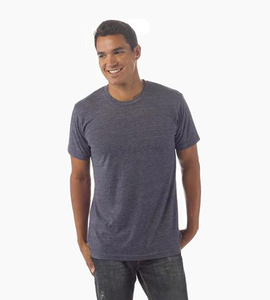 Independent trading company independent series men s t shirt   classic navy heather