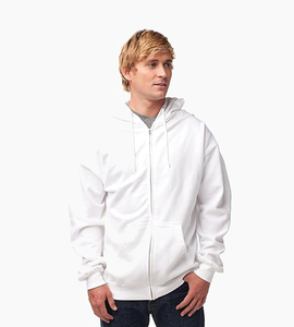 Independent trading company standard supply series men s zip hood   white