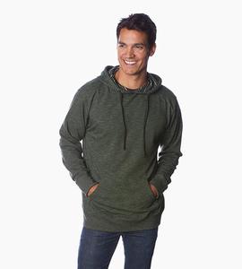Independent trading company prm series men s baja pullover hood   verde bosque