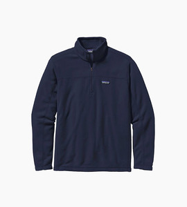 Patagonia m s micro d  pullover   navy