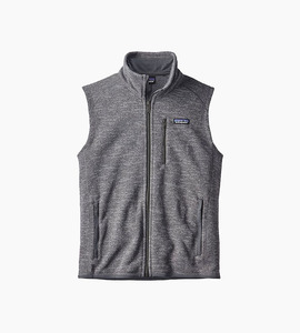 Patagonia m s better sweater  vest   nickel