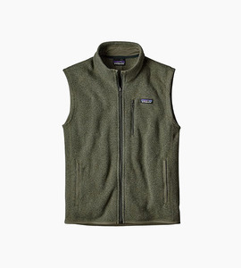 Patagonia m s better sweater  vest   industrial green