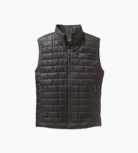 Patagonia m s nano puff  vest   forge grey