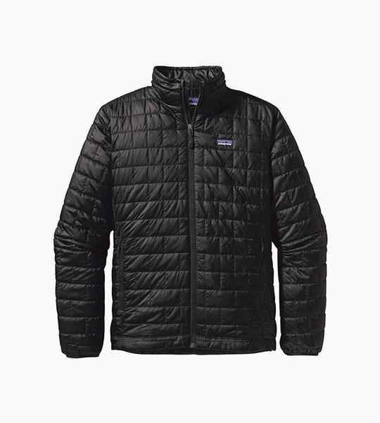 Patagonia m s nano puff  jacket   black