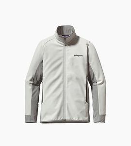 Patagonia women s adze hybrid jacket   tailored grey