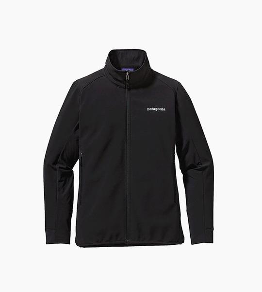 Patagonia women s adze hybrid jacket   black