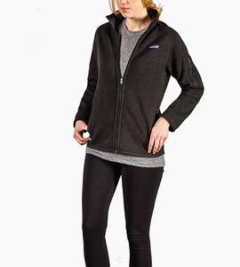 Patagonia women s better sweater  jacket   black