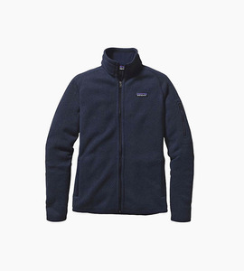 Patagonia women s better sweater  jacket   classic navy