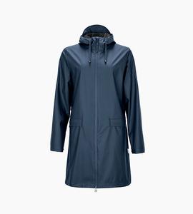 Rains w coat   blue