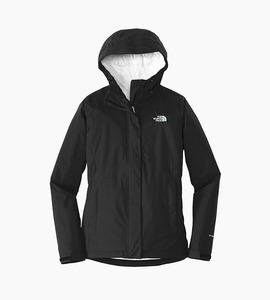 The north face ladies dryvent rain jacket   tnf black