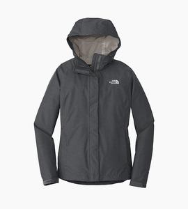 The north face ladies dryvent rain jacket   tnf dark grey heather