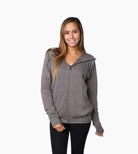 Independent trading company prm series unisex special blend zip hood   nickel