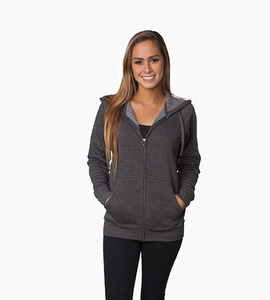 Independent trading company prm series unisex special blend zip hood   carbon