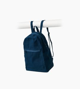 Baggu zip backpack   indigo