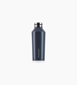 Corkcicle canteen 9oz   gloss graphite