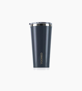 Corkcicle tumbler 16oz   gloss graphite