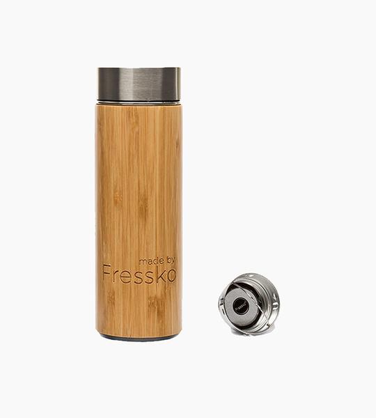 Fressko rush flask 300ml   bamboo wood