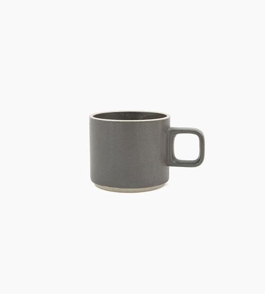 Hasami porcelain mug 11 oz   black