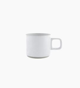 Hasami porcelain mug 11 oz   grey