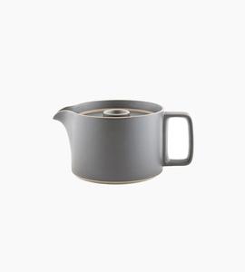 Hasami porcelain tea pot   black