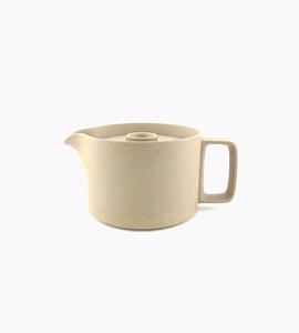 Hasami porcelain tea pot   natural