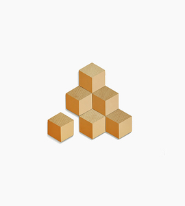 Areaware table tiles    terracotta