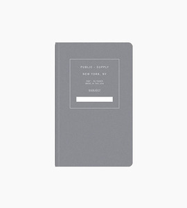 Public supply notebook   single   black 02