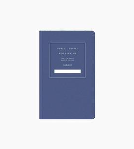 Public supply notebook   single   blue 01