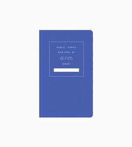 Public supply notebook   single   blue 02