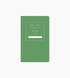 Public supply notebook   single   green 02