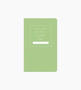Public supply notebook   single   green 03