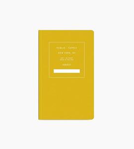 Public supply notebook   single   yellow 01