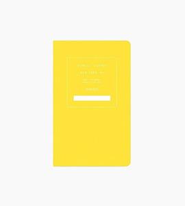 Public supply notebook   single   yellow 02