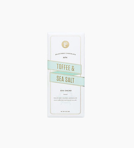Lolli and pops signature bar 3 oz   toffee and sea salt