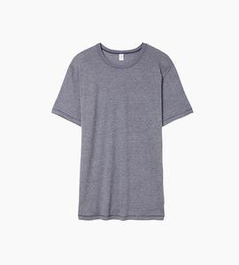 Alternative apparel keepsake vintage jersey crew t shirt   vintage navy