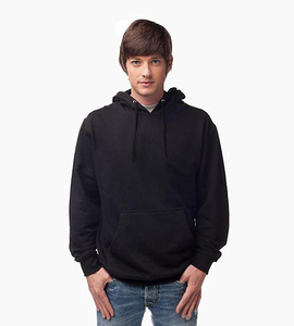 Independent trading company standard supply series men s pullover hood   black