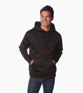 Independent trading company expedition series men s poly tech slim fit pullover hood   black