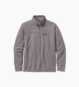 Patagonia m s micro d  pullover   feather grey