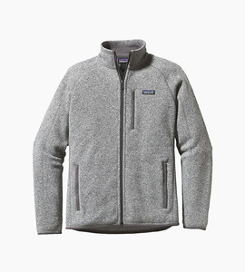 Patagonia better sweater fleece jacket   stonewash
