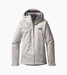 Patagonia women s torrentshell jacket   birch white