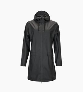 Rains w coat   black