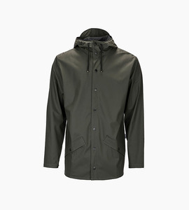 Rains w jacket   green