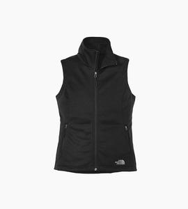 The north face ladies ridgeline soft shell vest   tnf black