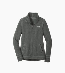 The north face ladies sweather fleece jacket   tnf black heather