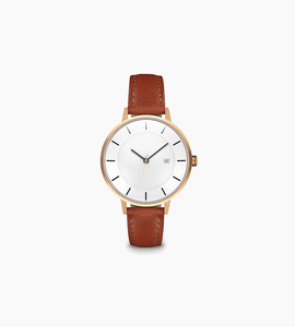 Linjer w classic watch   rose gold tan
