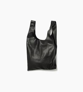 Baggu leather baggu   black