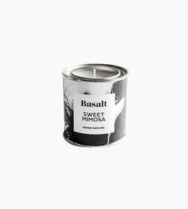 Basalt soy candle 8 oz   sweet mimosa