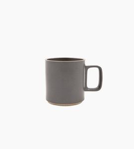 Hasami porcelain mug 13 oz   black