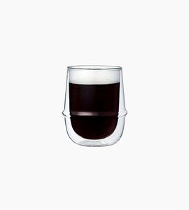 Kinto kronos double wall coffee cup